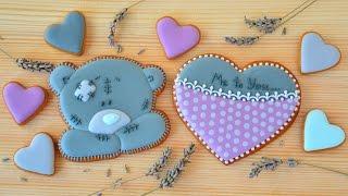 Имбирное печенье ко Дню Святого Валентина