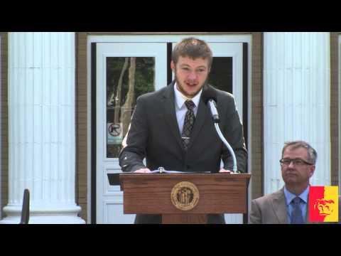 Russ Hall Fire Centennial (event program) - Pittsburg State University