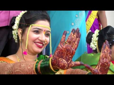 Marathi  wedding  highlight  song. Video by vikram