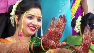 Marathi  wedding  highlight  song. Video by vik...