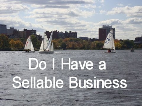 how to build a sellable business