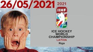 Чемпионат Мира по хоккею 2021 Итоги 6 дня Таблицы результаты расписание
