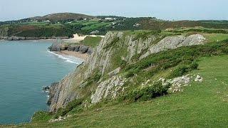 Places to see in ( Swansea - UK ) Three Cliffs Bay