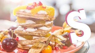 Orange Rum Pancakes: #foodporn