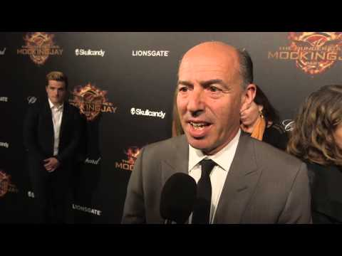 Jon Kilik  Mockingjay Part 1  2014 Cannes Film Festival