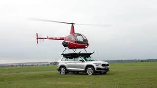 Mentes és Társai bemutatja - ŠKODA KODIAQ és a Robinson R22 helikopter