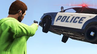 GANGSTERS VS POLICE! (GTA 5 Funny Moments)