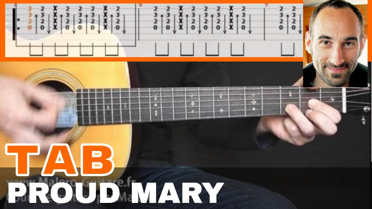 Proud Mary Guitar Tab Youtube