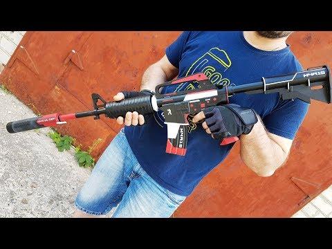 HOW TO MAKE M4A1-S | CYREX IN REAL LIFE (CS:GO,DIY)
