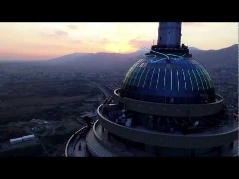 Milad Tower , Tehran Iran_ 6th tallest tower in the world.