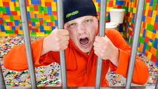I Trapped Unspeakable in LEGO Prison!