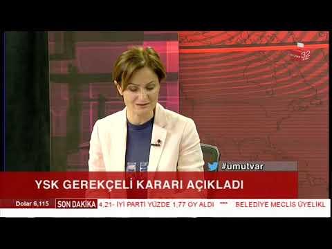 Canan Kafatancıoğlu'ndan YSK'nin kararına ilk tepki