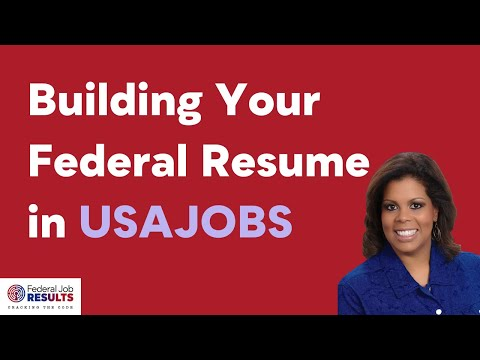 Building your Resume into USAJOBS narrated 2016 v2