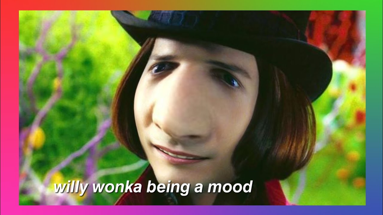 think positive willy wonka - 1280×720