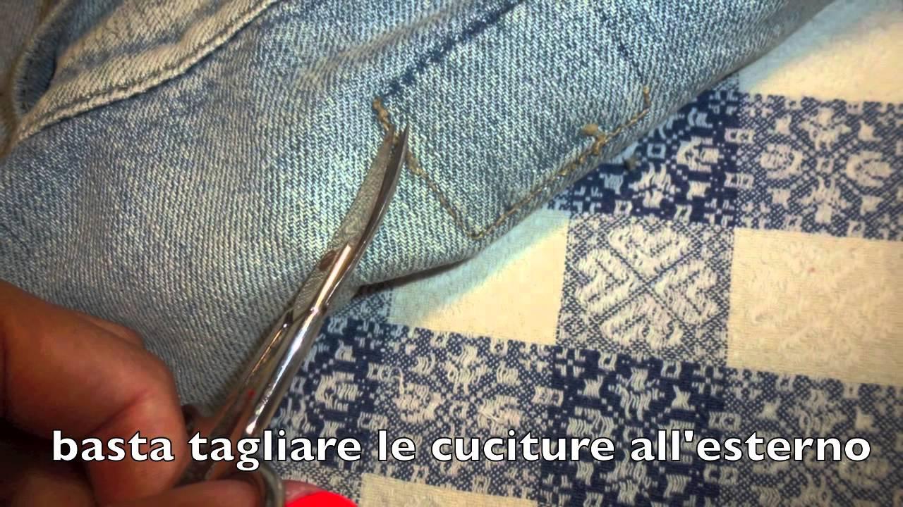 Come Modificare E Rendere Fashion Un Vecchio Giacchetto Di Jeans