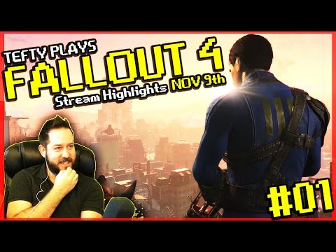 Fallout 4 Gameplay [PS4] - First Timer to Fallout Series - EP 01 Stream Edit Nov 9th