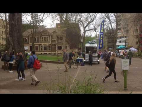 Portland State University Walk -2017