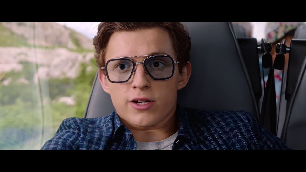 Download Peter discovers Iron Man's EDITH Scene - SPIDER-MAN: FAR FROM HOME (2019) Movie Clip