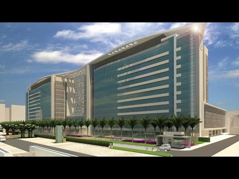King Fahad Medical City is the leading hospital in Saudi Arabia