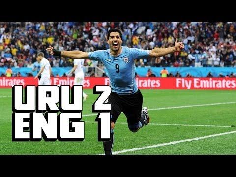 Suarez Steps Up BIG, Two AMAZING Goals [Uruguay vs. England Recap]