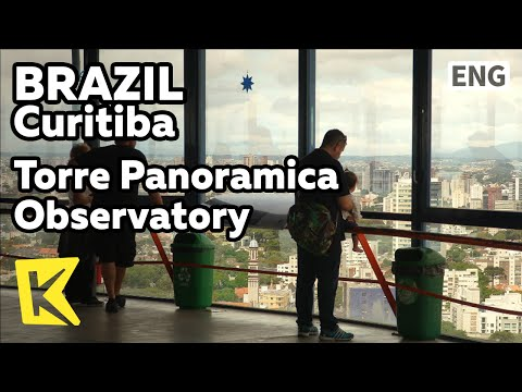 【K】Brazil Travel-Curitiba[브라질 여행-쿠리치바]쿠리치바 파노라마 전망대/Cell tower/Observatory/