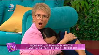 Teo Show (13.09.2017) - Andrei Voicu, un fenomen in hipnoza! Ce face cu puterile lui! Part ...