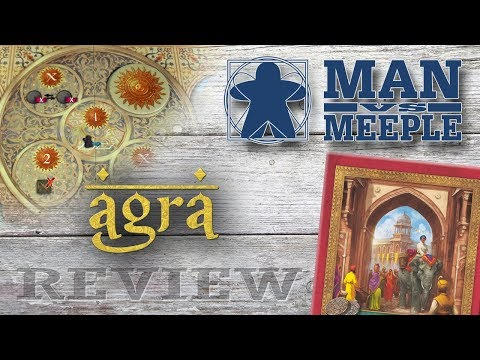 Agra (Quined Games) Review by Man Vs Meeple
