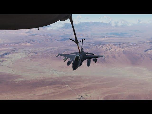 DCS World 2.5(beta) - F16 Viper AAR on Nevada