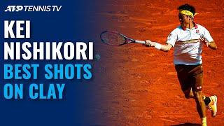 Kei Nishikori: Best-Ever Points On Clay