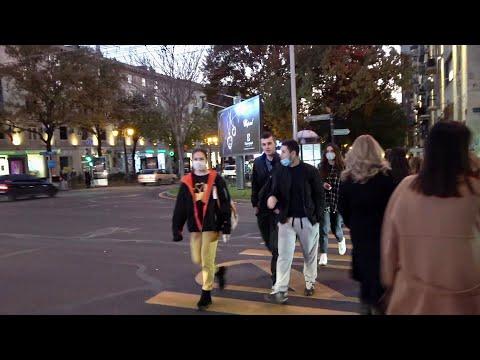 Ереван, 22.11.20, Su, Двор в центре Еревана, на четыре улицы.Video-1.