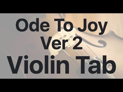 Learn Ode To Joy Ver 2 on Violin - How to Play Tutorial