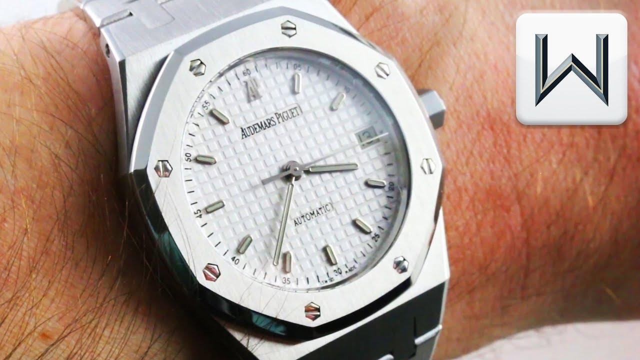 0b06ceb1c1f Audemars Piguet Royal Oak MID SIZE (14790ST) Luxury Watch Review ...