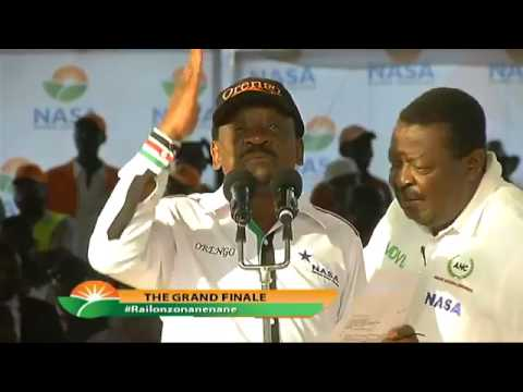 James Orengo EXPOSES the Police Officers Who RAIDED Nasa Tallying Center.He WARNS Jubilee.
