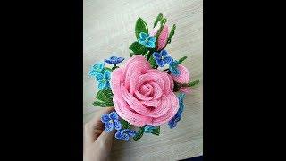 Букет из бисера. Bouquet of beads