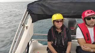 Μεσσηνία: Εκπαίδευση διασωστών στο χειρισμό σκάφους από Νορβηγούς (2)