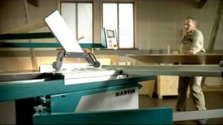 Martin T60 And T74 Sliding Table Saw
