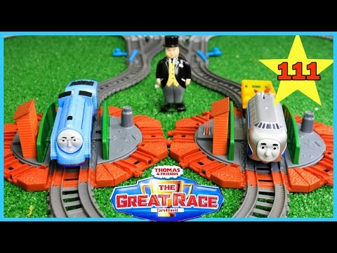 NEW THE BIGGEST! THOMAS AND FRIENDS THE GREAT RACE #111 |TrackMaster Gordon|Toy Trains for Children