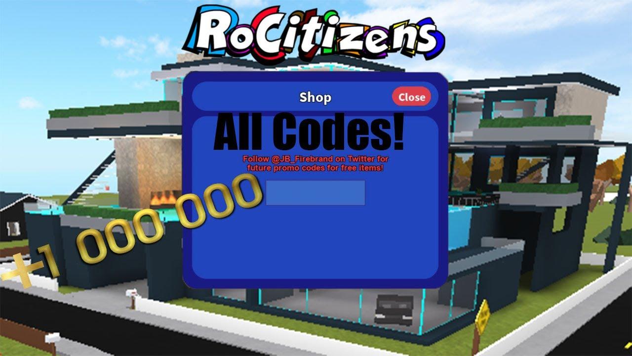 Rocitizens Codes August 2018