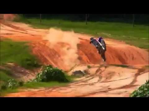 James Stewart riding at home
