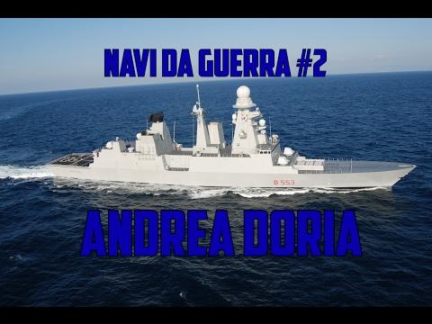 La flotta navale della marina militare italiana doovi for Andrea doria nave da guerra
