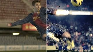Making Of QF FCB Commercial (best vfx) lionel messi HD