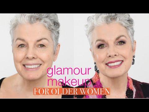 Glamorous Makeup for Mature Women - Full face tutorial - 동영상