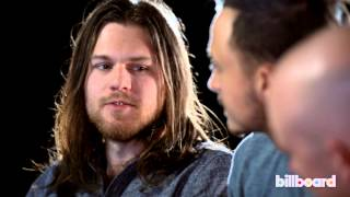 The Fray plays 'How Well Do You Know Your Band Mates?' with Billboard