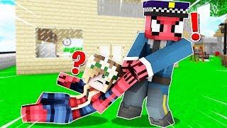 FAKİR POLİS OLUP SEVGİLİSİNİ TUTUKLADI! 😱 - Minecraft
