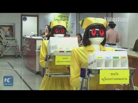 China-developed robotic nurses