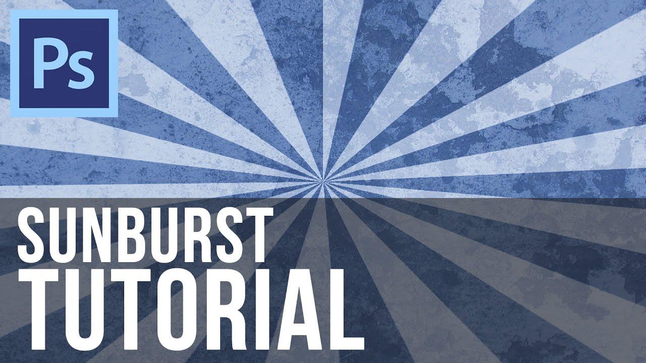 Download Sunburst Effect - Photoshop CS6 Tutorial