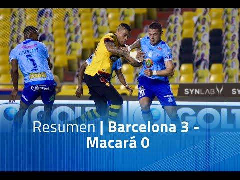 Barcelona SC Macara Goals And Highlights