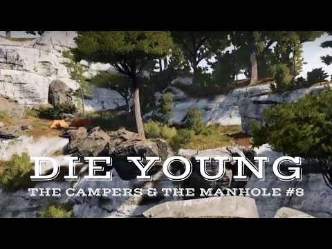 Die Young - The Campers & The Manhole (New Parkour/ Horror/ Survival Game) #8