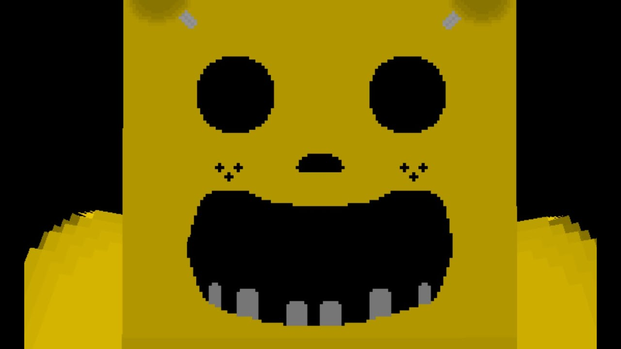 Five Nights At Freddy S Minecraft Preview Golden Freddy