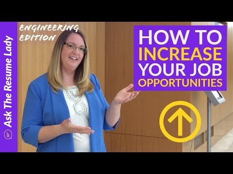 How To Increase Your Job Opportunities! | Ask The Resume Lady | Job Search Advice